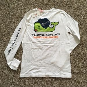 Vineyard vines Frankenstein Halloween tee XS